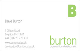 Burton OD Logo & stationery