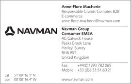 Navman stationery